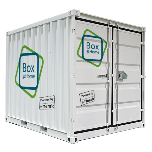 An XL Box from Box@Home with a storage volume of 16m³