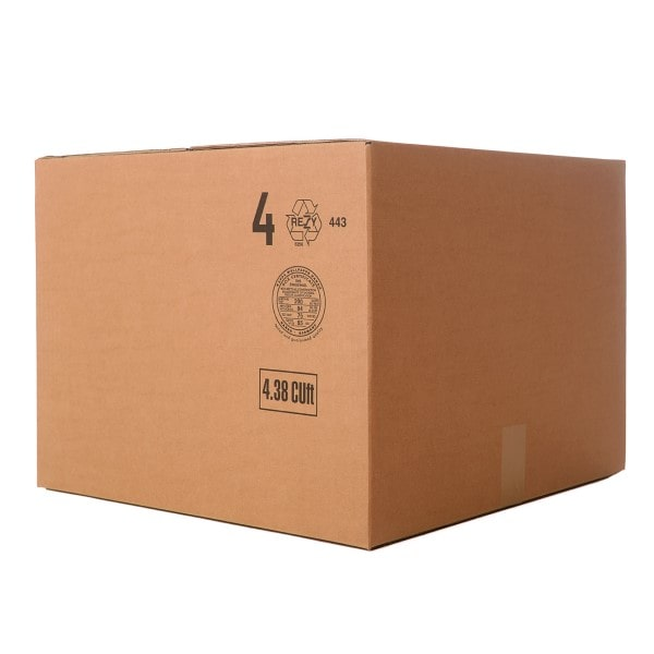 A medium cardboard removal box